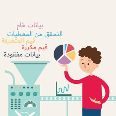 تهيئة وتنظيف البيانات